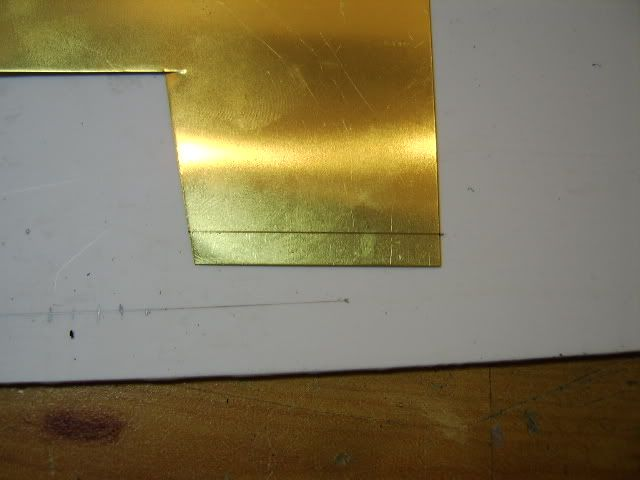 Brass mini hinges 4
