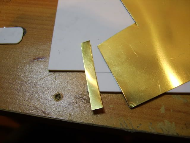 Brass mini hinges 5