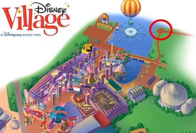 DISNEY VILLAGE - Disney's bonfire Bonfire