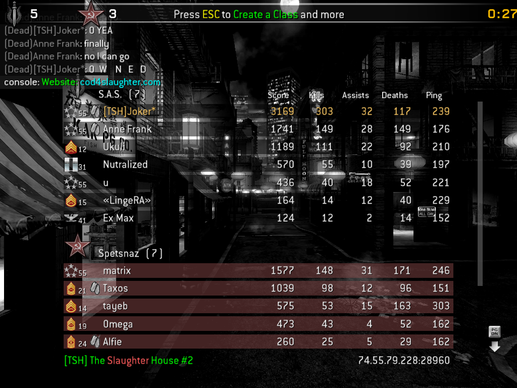 OK every1 post pics of their best scores !!!! Cod4mp-20081016-153222
