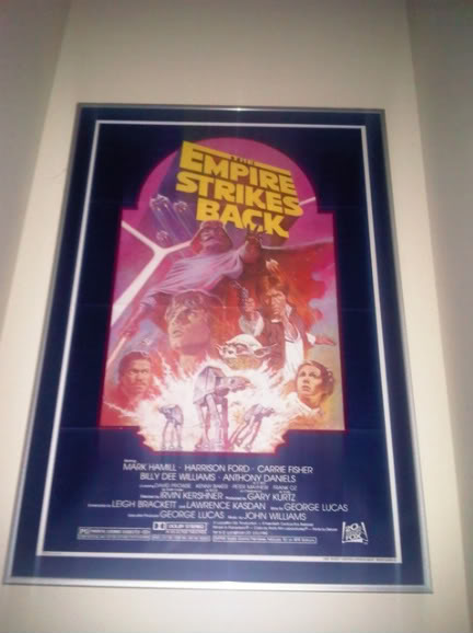 Does anybody collect or own any Original Vintage Star Wars One Sheets / Quads (Movie Posters) ? ESBposter