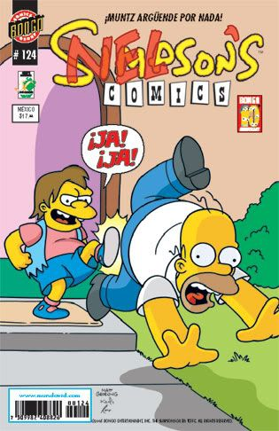 Simpson Comics Simpson124g