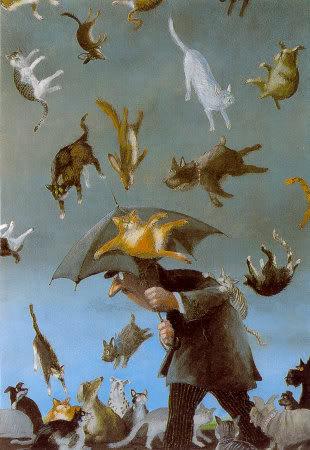 Bonne Vendredi Raining-Cats-Dogs-Posters