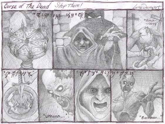 Curse of the Dead campaign! Week3Comic