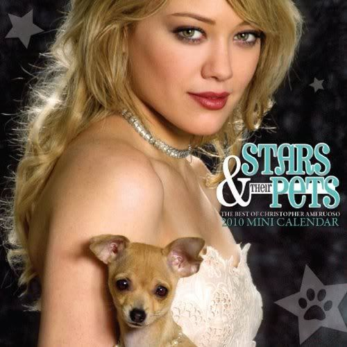 Stars and their pets 2010 calendar Pets