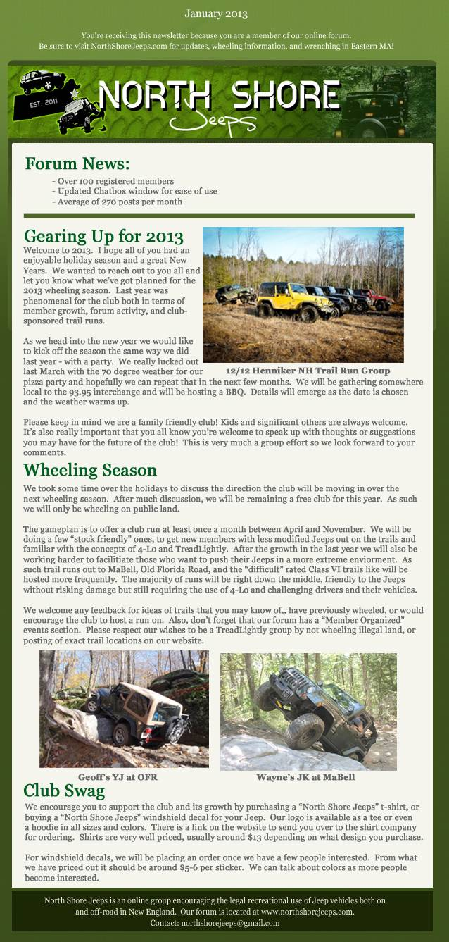 Winter 2013 Newsletter 01-2013Trimmed