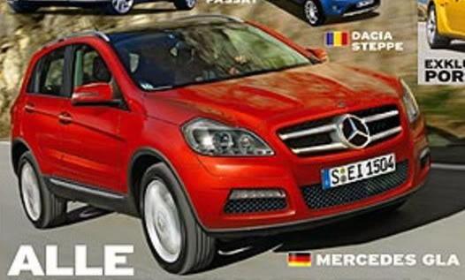 2013 - [Mercedes] GLA [X156] Merc-GLA