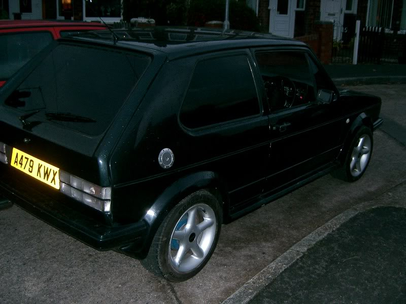 My mk1 golf gti project Picture012