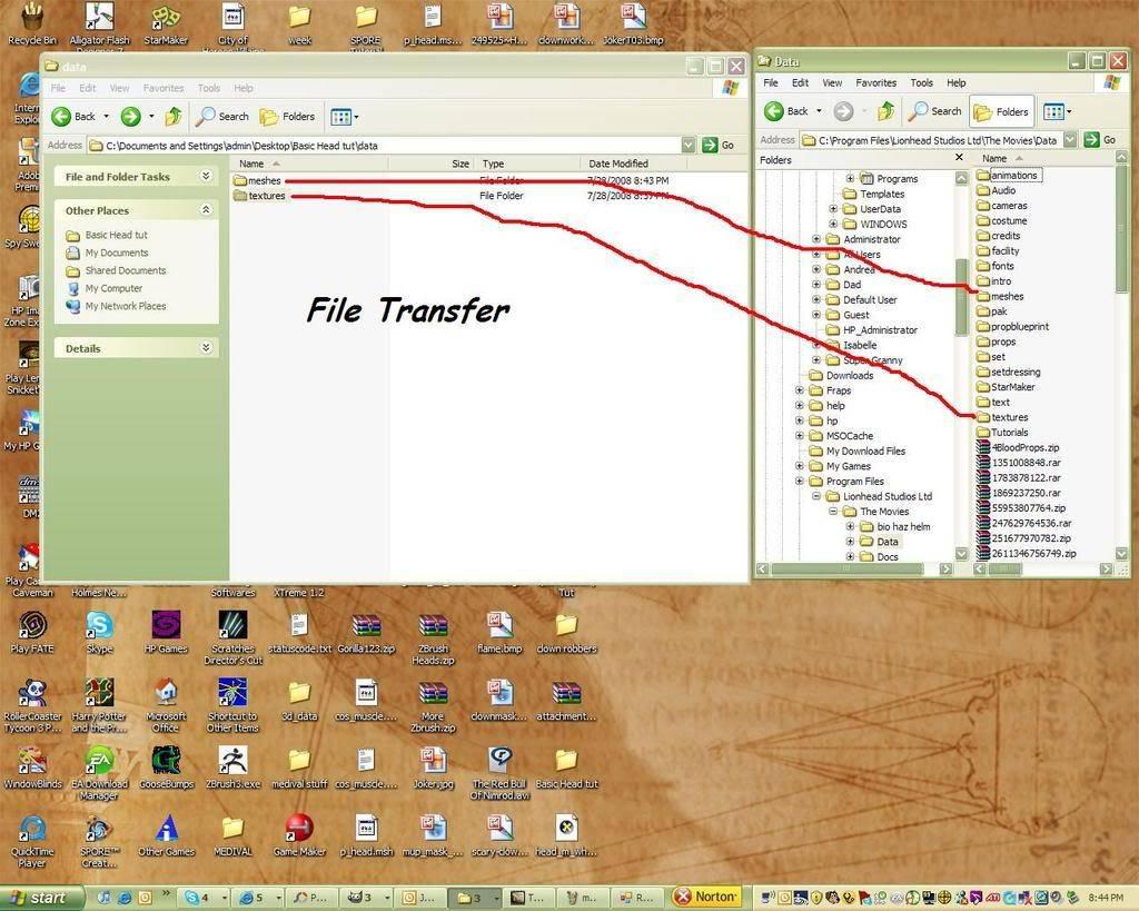 How To Retexture A Latex Head Filetransfer