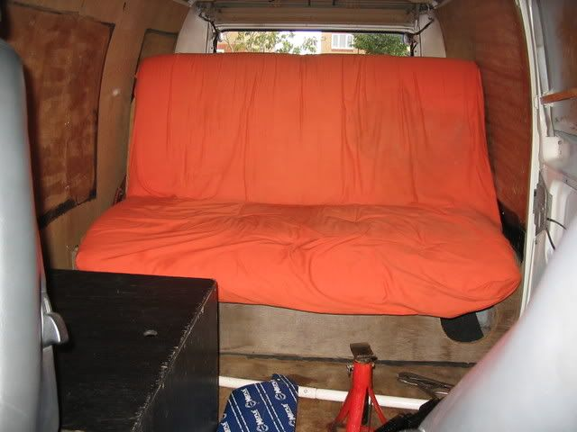 The 72 custom bay called hank Bed