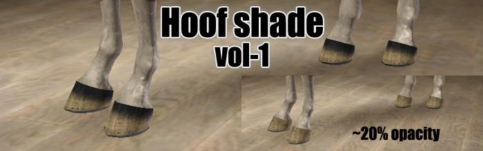 Dorms' little cc corner -- Leg wraps  (3/8, posted 3/14) Hoofshadingvol1