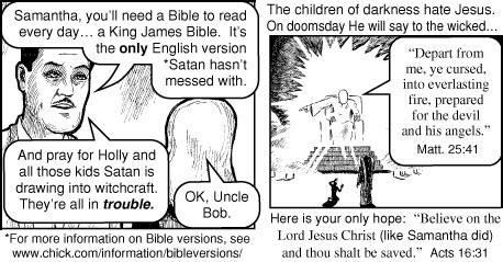 Christian Propagander... funny stuff! 21