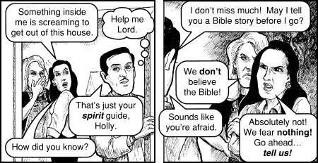 Christian Propagander... funny stuff! 8