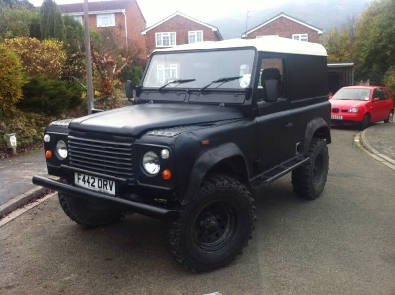 Defender 90 with Defender 200tdi 12 Months MOT/INSAS/LIFT 612dca84