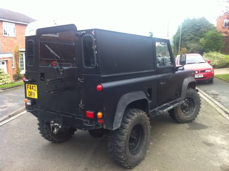 Defender 90 with Defender 200tdi 12 Months MOT/INSAS/LIFT F9a631ff