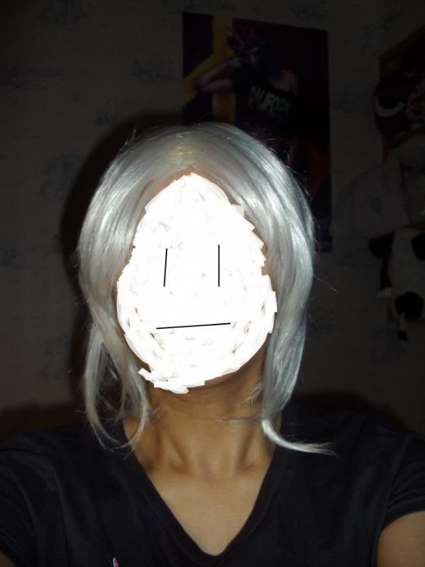 [SELLER] ALL WIGS $10+POSTAGE (Black x4//White x3) DSC04117