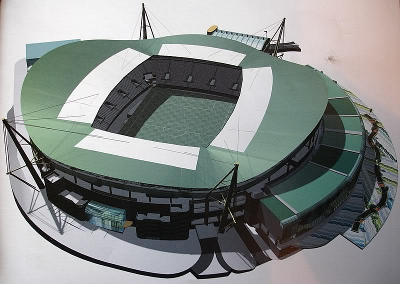 Estadio Jose Alvalade Siglo XXI - Lisboa, Portugal DSC07558