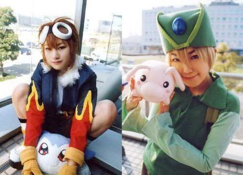 Cosplay Digimon DavisChibimonDigimon2TKTokomonDigim