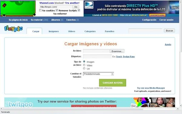 Recuperar tus imagenes de Tinypic 2