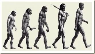 La evolución mental fue junto con la física? Evolucion_hominida2