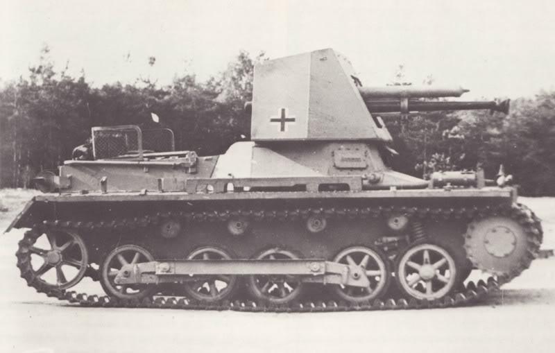 Panzerkampfwagen I & II - Panzer I & II PanzerjagerI