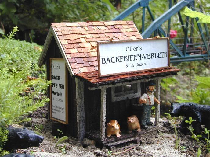 Friede den Hütten.... BackpfeifenVerleih