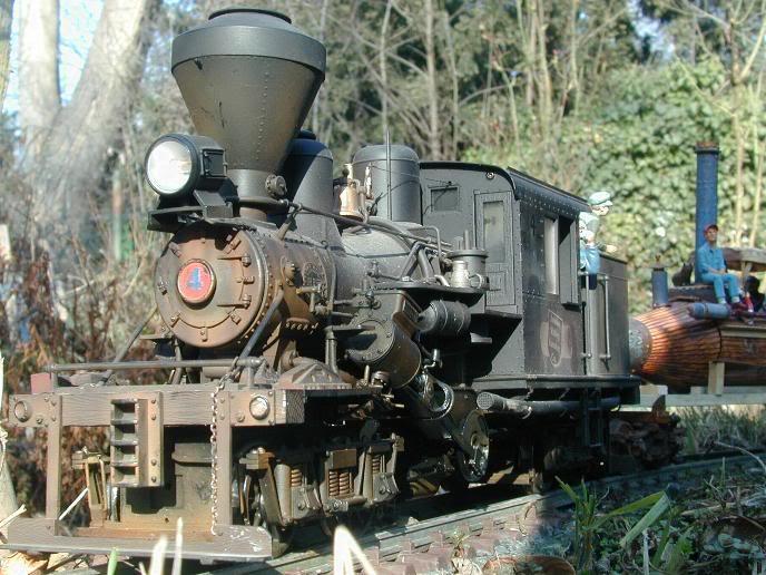 Akku / RC Lokomotiven Climaxgestaltet