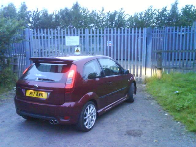 Svensey's Fiesta Mk6 DSC00553