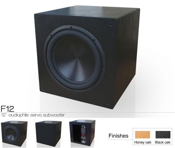 Rythmik Audio F12 servo controlled subwoofer (New) F12