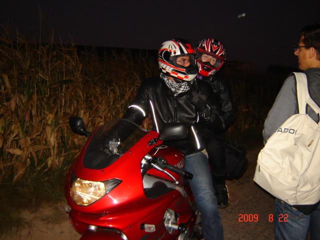 Os Lencinhos nas motos! DSC02603