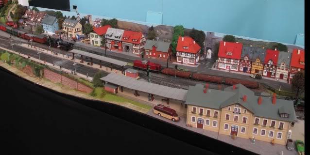 London Festival of Model Railways Felsen