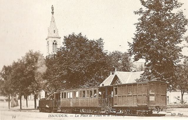 Old French Railway Postcards - Page 4 Issoudun