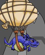modré zvieratko pet Bluemuhrble