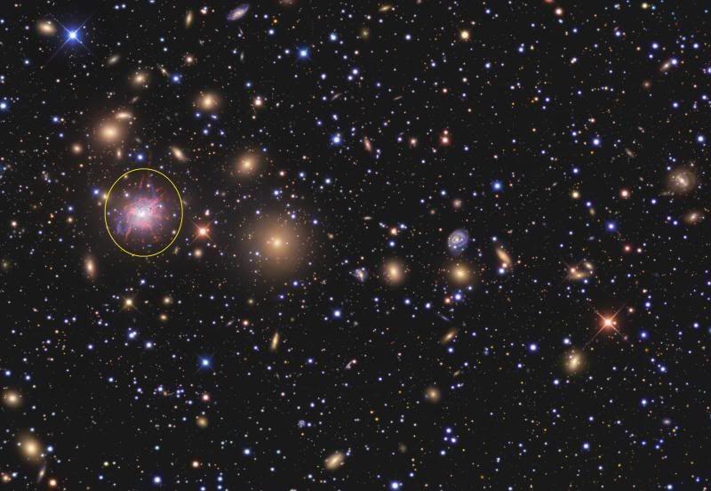 Monstruo galáctico NGC1275