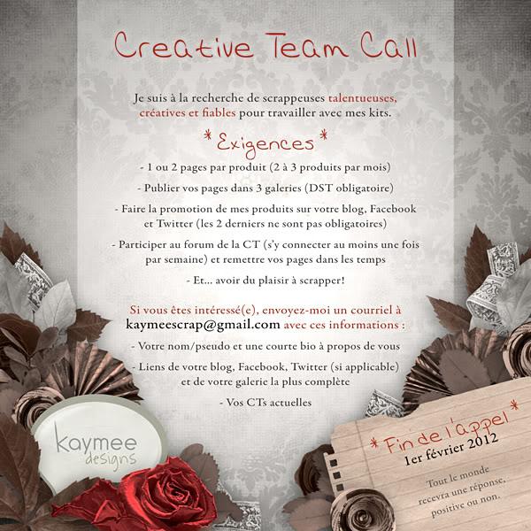 * CT Call * Kaymee Designs (jusqu'au 1er février) ***CLOS*** -CTCall_janv12_fr