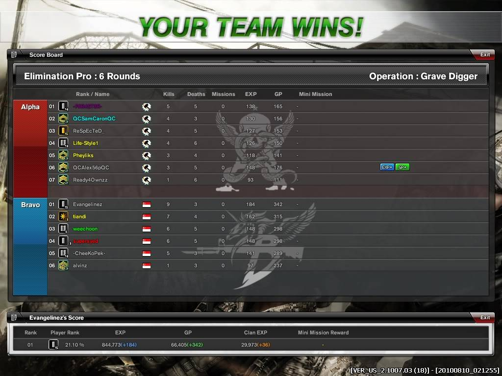 Many Clan War photos we won! And some losts.. Combat-Arms_113