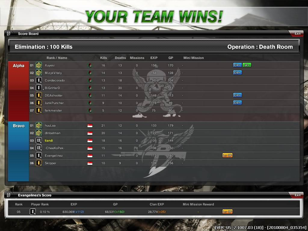 Many Clan War photos we won! And some losts.. Combat-Arms_85