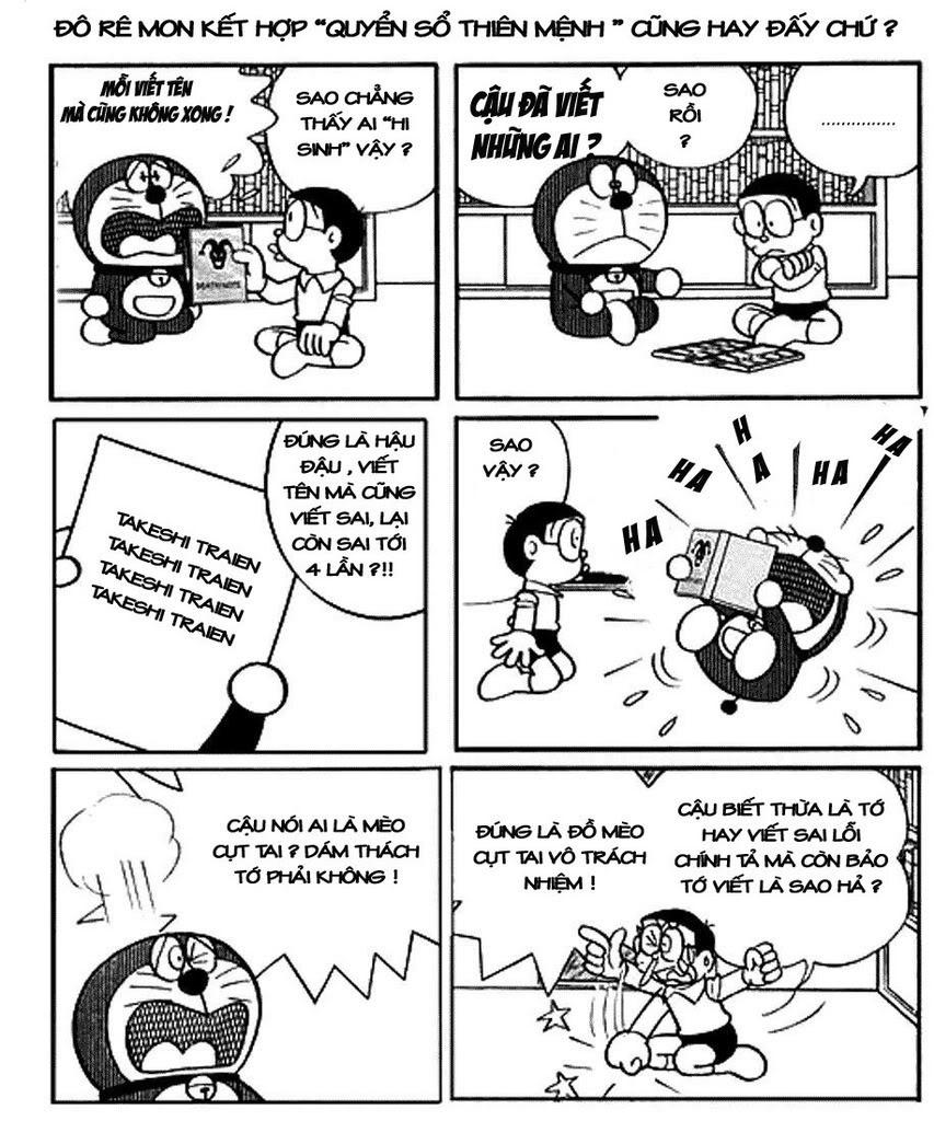 Truyện Đoremon chế, thư giãn tí nào anh em. !!! Doranote4
