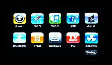 DVD/GPS system Dvd7