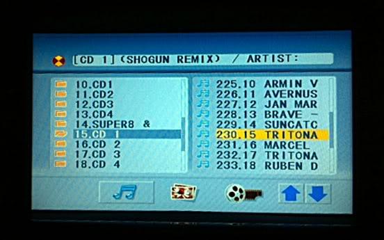 DVD/GPS system Dvd8