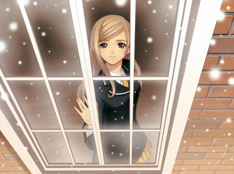 صور انمى فى المدرسة Snow