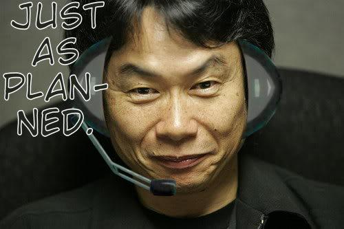 Shigeru Miyamoto plot went just as planned JustasPlannedMiyamoto