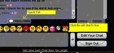 How to link your chat to the Illumnati Chat Lunapic-12399747592369