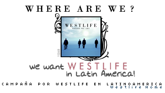 Westlife en el publico. Sticker