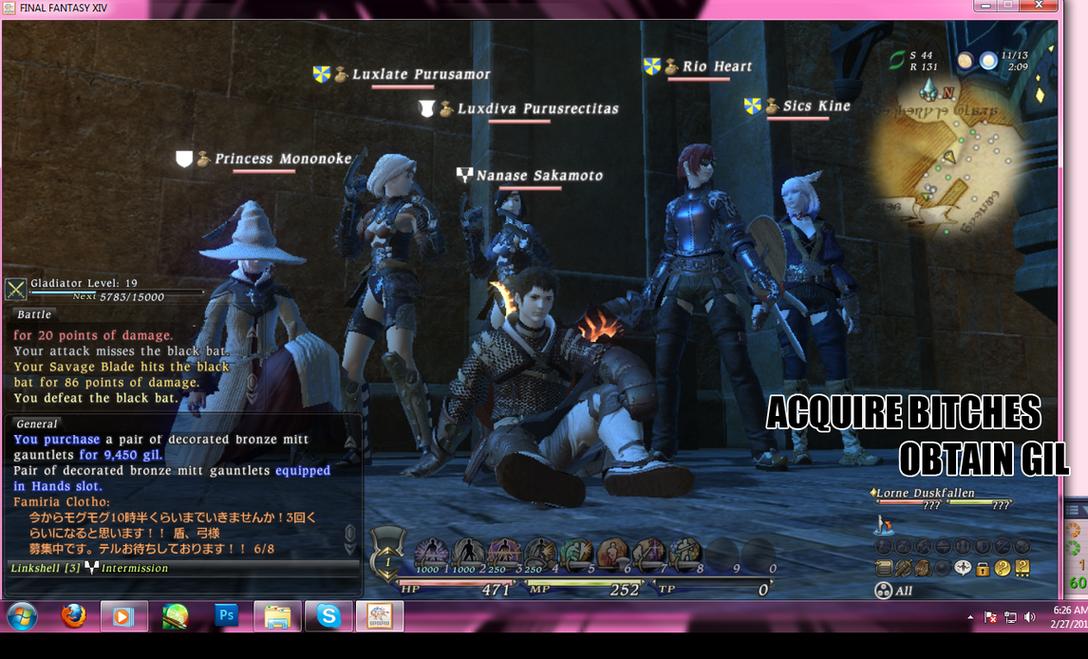 [PC] Final Fantasy XIV Yeeeaaa