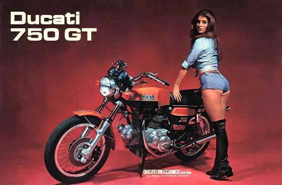 hot girls hot bikes - Page 4 750gt