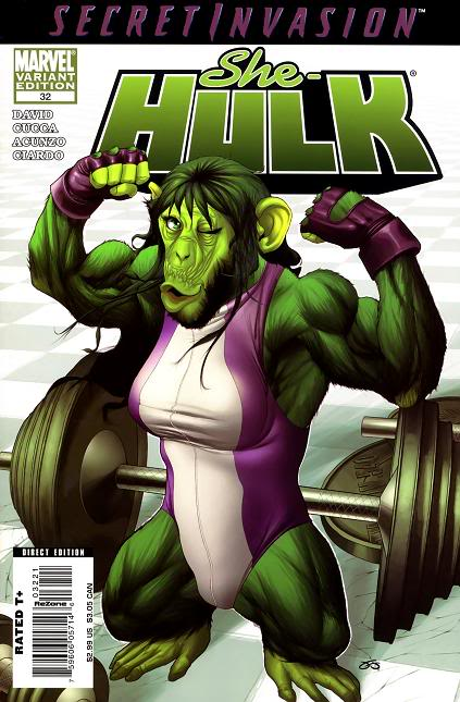 Képek a képregény világából She-Hulk