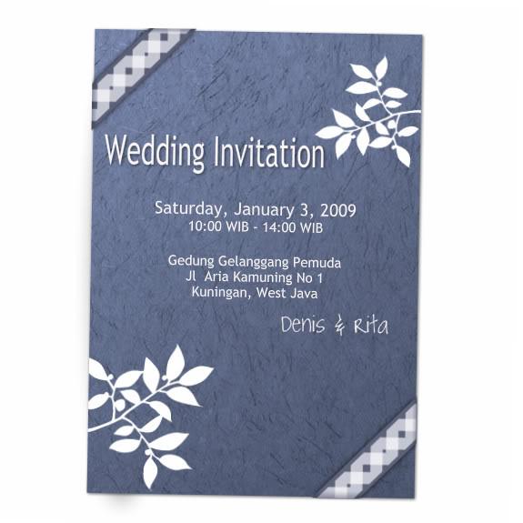 Wedding Invitation Wedding_Invitation