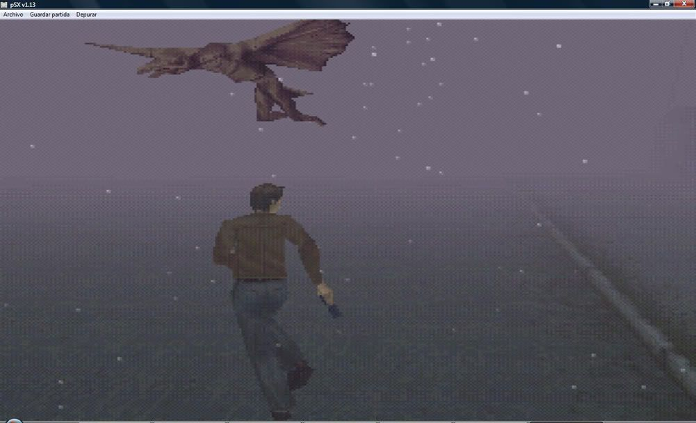 Silent Hill 1 portable Dibujo
