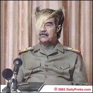 Hình ảnh vui về sự tiến hoá của loài người Saddamflock